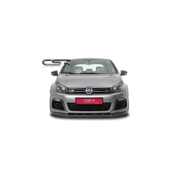 Voorspoiler VW Golf VI R 2009-2012 ABS