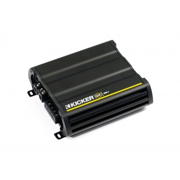 Kicker CX-serie monoblock versterker CX600.1