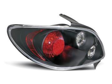 Achterlichten Peugeot 206 Lexus look zwart