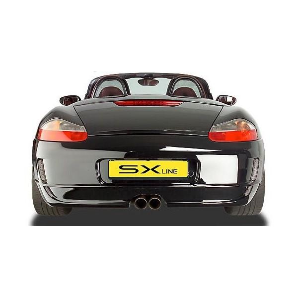 Achterbumper voor de Porsche Boxster 986 SX-Line