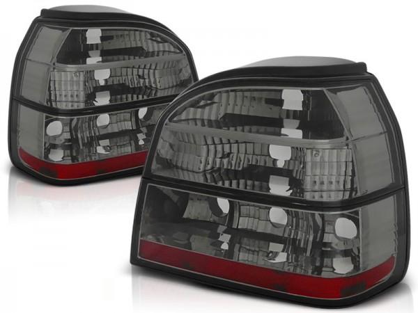 Achterlichten VW Golf III Helder smoke/rood