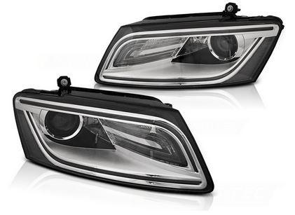Koplampen Audi Q5 8R 07-17 Tube LED