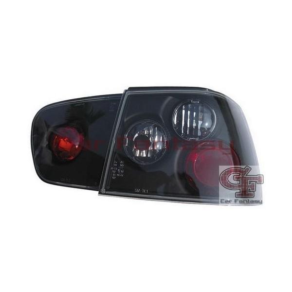 Achterlichten Seat Ibiza 99-02 lexus zwart