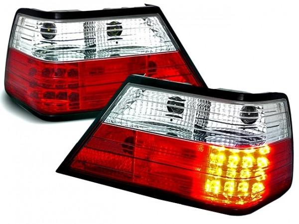 Achterlichten Mercedes E-Class W124 LED rood