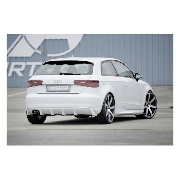Rieger Achteraanzet Audi A3 8V 2012- Duplex