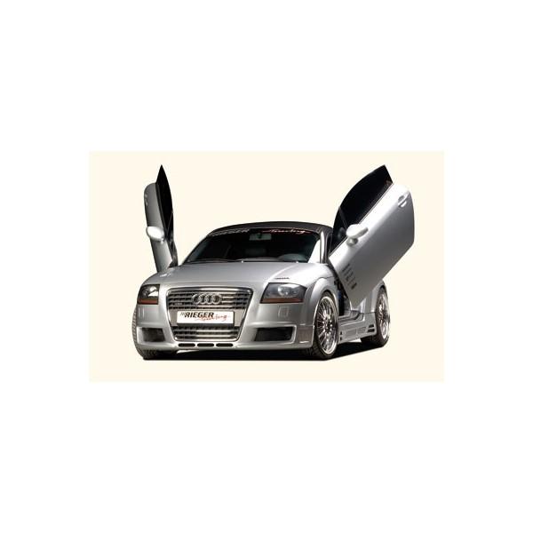 Voorbumper Audi TT Rieger R-Frame met air-intakes (SRA)