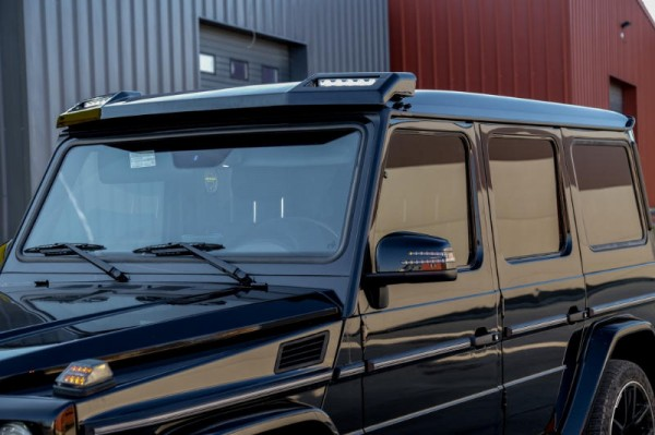 Dakspoiler Voorzijde Mercedes W463 G-Klasse 89-18 LED 6X6 Design