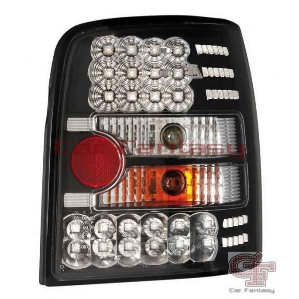 Achterlichten VW Passat 3B 97-00 variant LED zwart