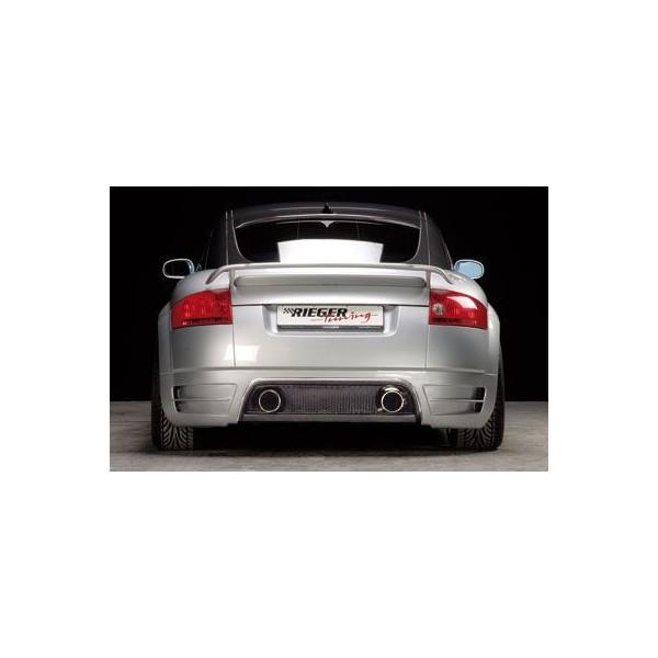 Achterbumper Diffusor Rieger voor de Audi TT