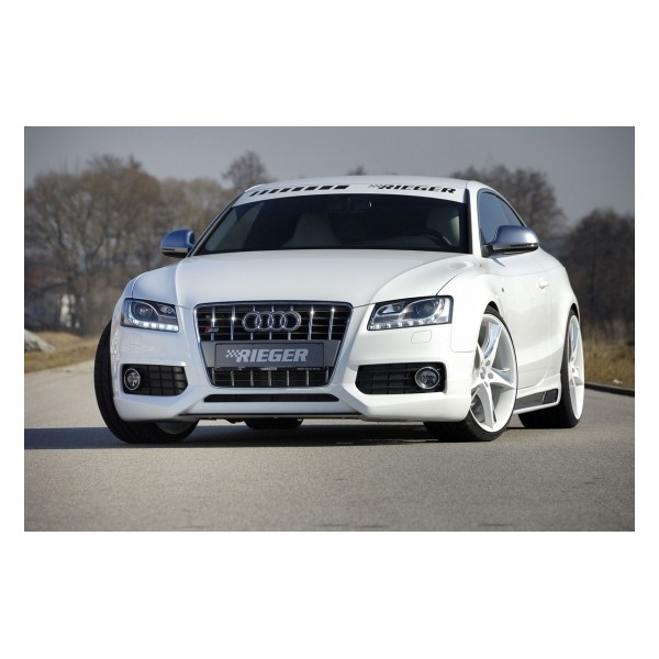 Spoilerlip Audi A5 B8/B81 07-11 S-line Rieger