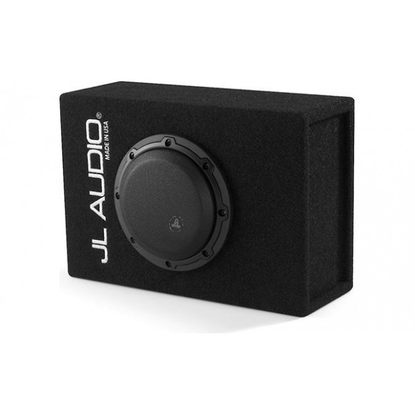JL audio subwoofer in kist CP208LG-W3v3