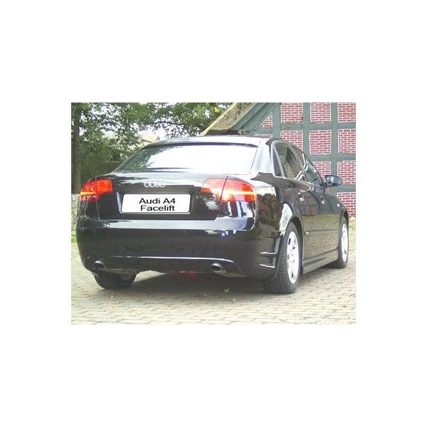 Achterbumper Audi A4 8E New Sportface IN-Tuning