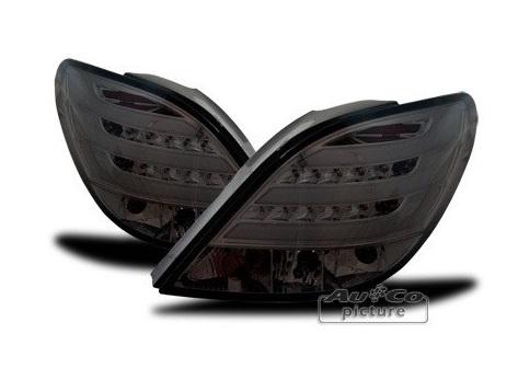 Achterlichten Peugeot 207 LED Smoke Lightbar