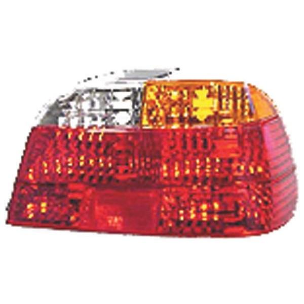 Achterlicht GLAS rechts BMW E38 98-01 ORANJE/WIT/ROOD ACHTERLICH