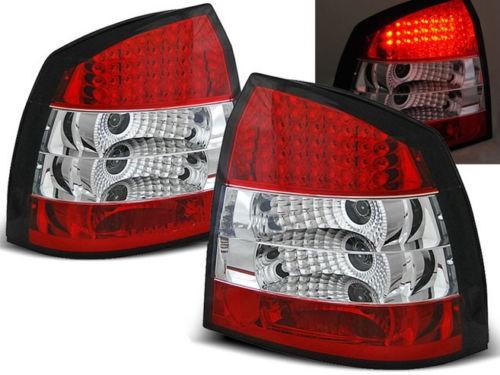 Achterlichten Opel Astra G LED rood/wit