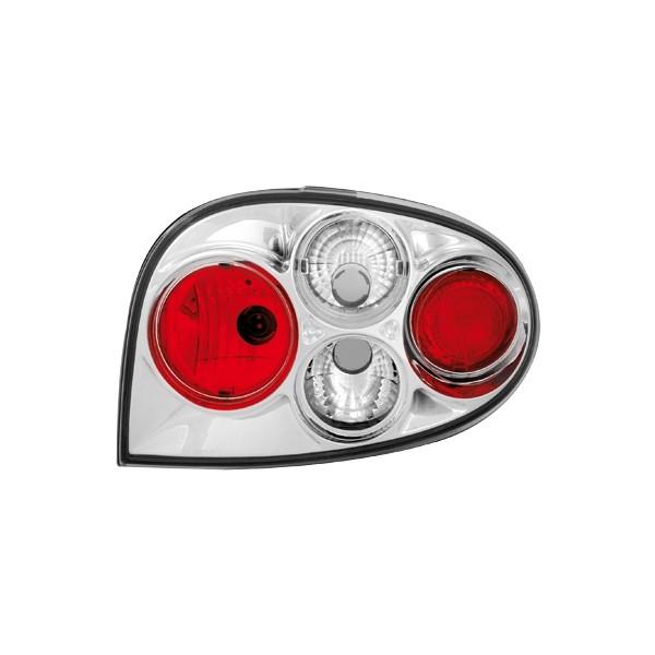 Achterlichten Renault Megane Coupe 3D 96- en 99-.. chroom