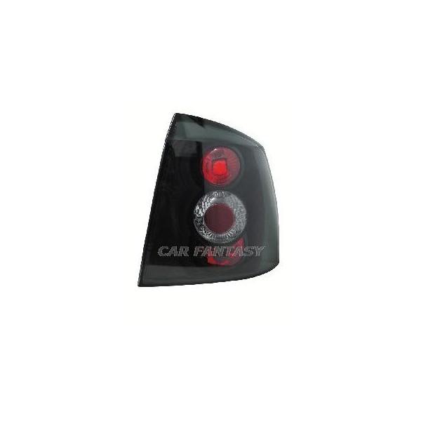 Achterlichten Opel Astra G style zwart