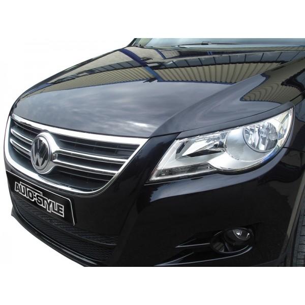 Koplampspoilers VW Tiguan (alle modellen) 2011- ABS