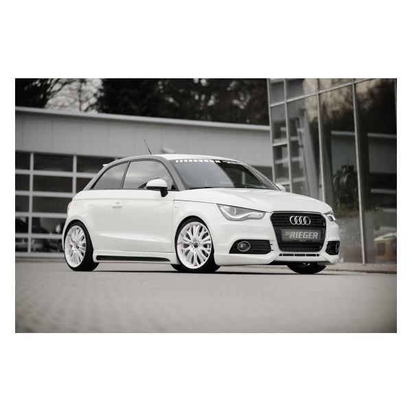 Rieger Zijskirts Audi A1 8X 2010- Carbon