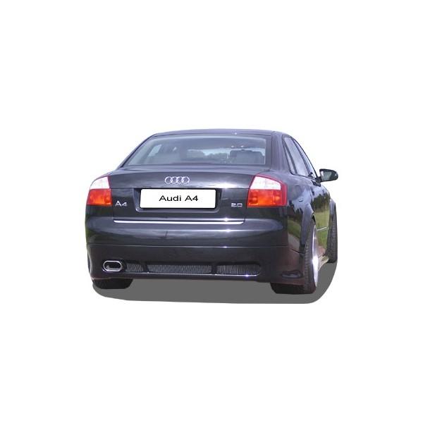 Achterbumper Diffusor Audi A4 8E Limousine GT-Street-One IN-Tuning