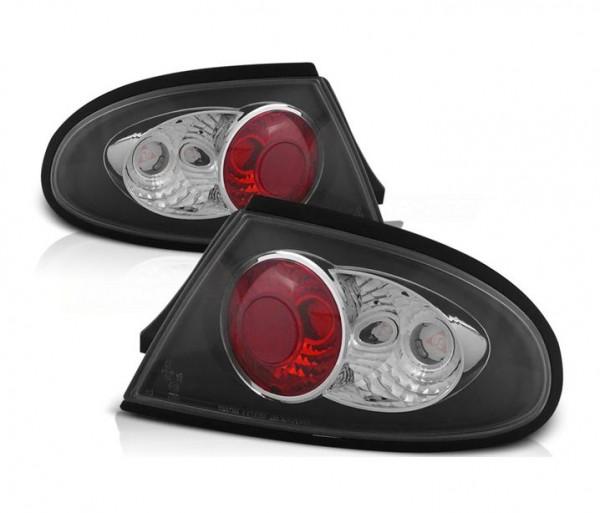 Achterlichten Mazda 323F BA 94-98 lexus zwart