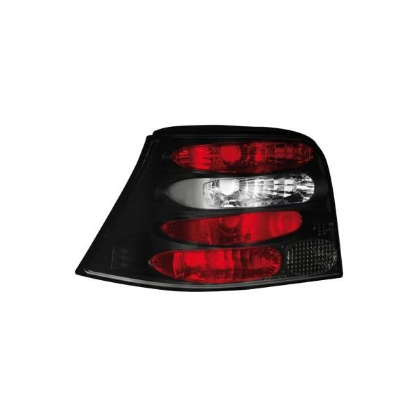 Achterlichten VW Golf IV new look zwart