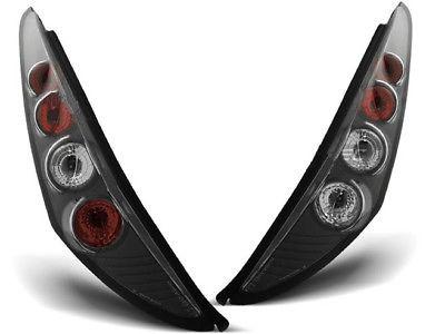 Achterlichten Fiat Punto 99-02, 3 deurs lexus zwart