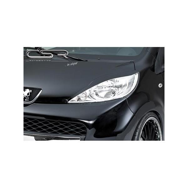 Koplampspoilers Peugeot 107 | 107 | Peugeot | Bumpers/Spoilers ...