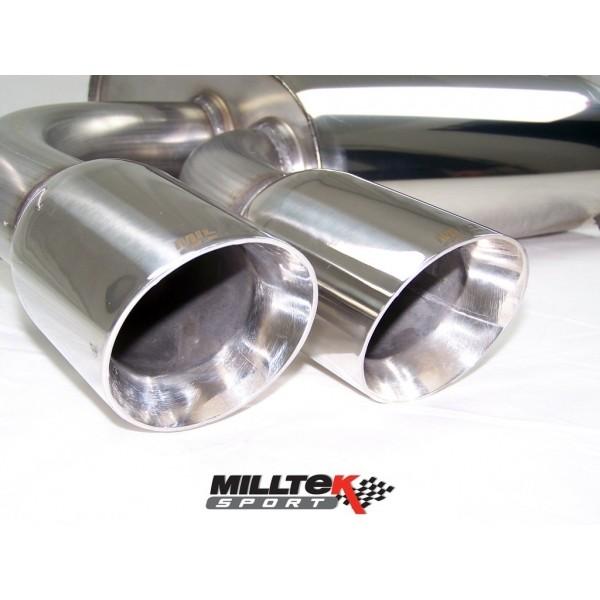 Milltek VW Scirocco 1.4 TSI cat-back systeem met dubbel 80mm Spe