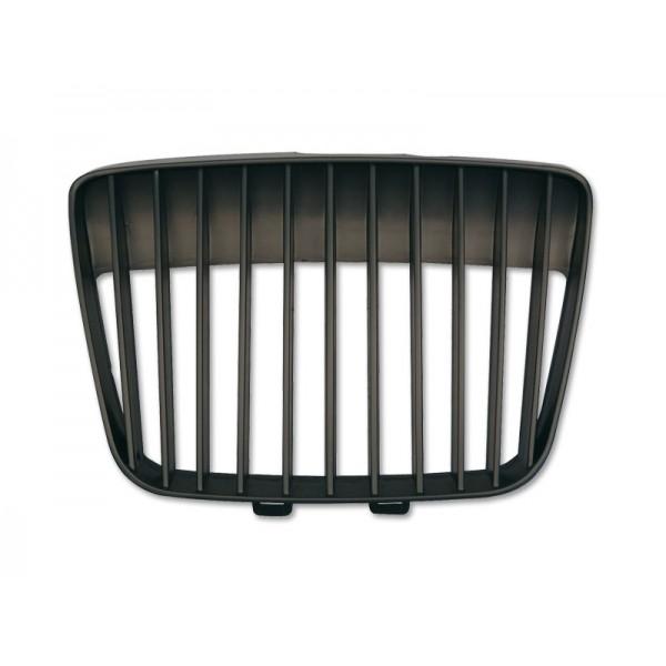 Grill zonder embleem Seat Ibiza 00-02 zwart