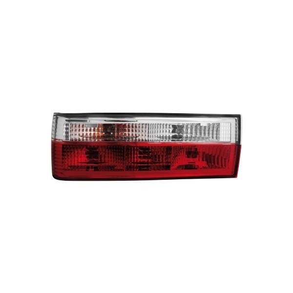 Achterlichten BMW E30 87-90 helder rood/wit