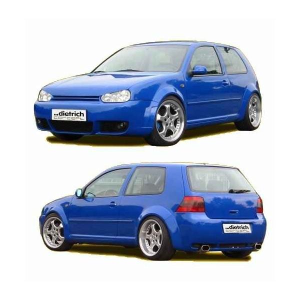 Complete bumperset VW Golf IV