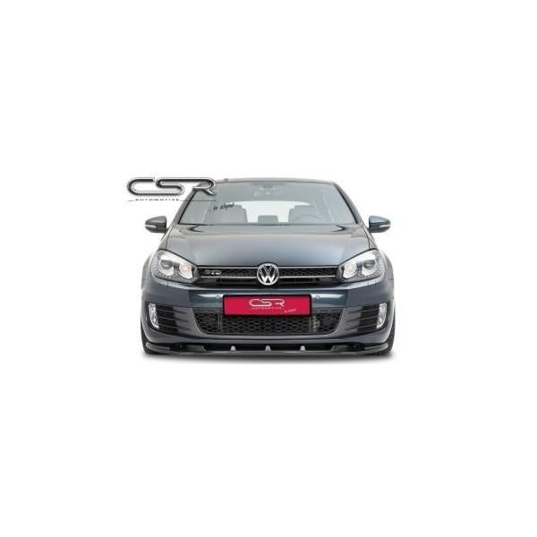 Voorspoiler VW Golf VI GTI/GTD 2008-2012 ABS