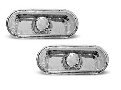 Zijknipperlichten VW chroom