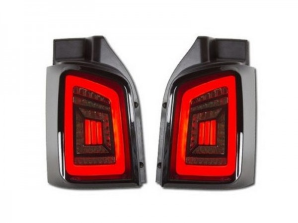 Achterlichten VW Bus T5 03-09 / T5 GP 09-14 LED Tube Dynamic Achterklep