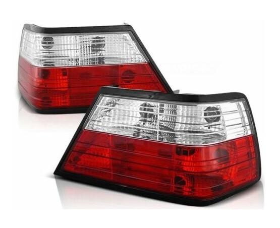 Achterlichten Mercedes E-Class W124 rood/clear
