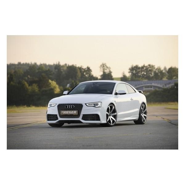 Voorbumper Audi A5 B8/B81 Rieger 11-