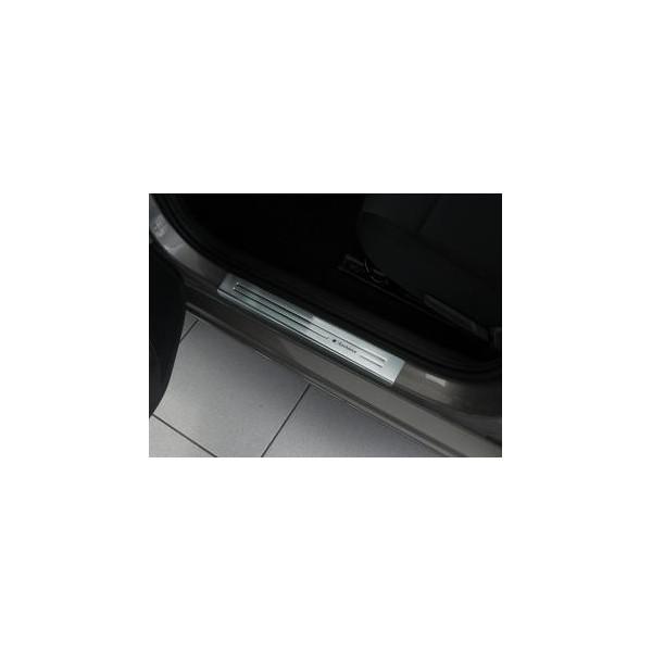 Instaplijsten Skoda Octavia Rapid 2012- RVS