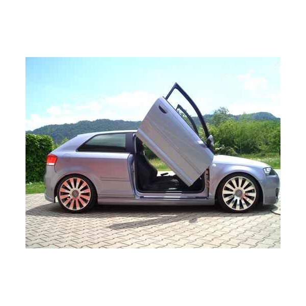 Zijskirts Audi A3 8P Design IN-Tuning
