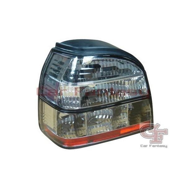 Achterlichten VW Golf III Helder wit/rood