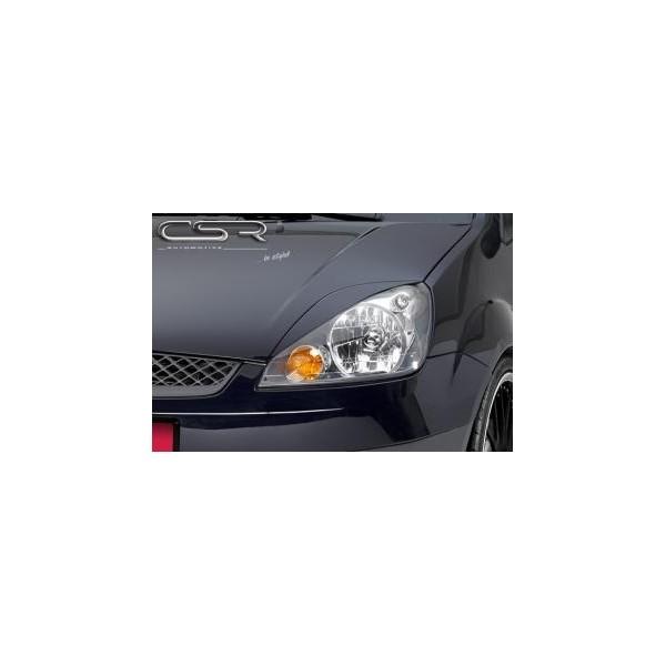 Koplampspoilers Ford Fiesta MK6 2005-2008 ABS