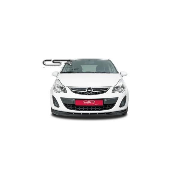 Voorspoiler Opel Corsa D (niet voor GSI/OPC) 2010- ABS