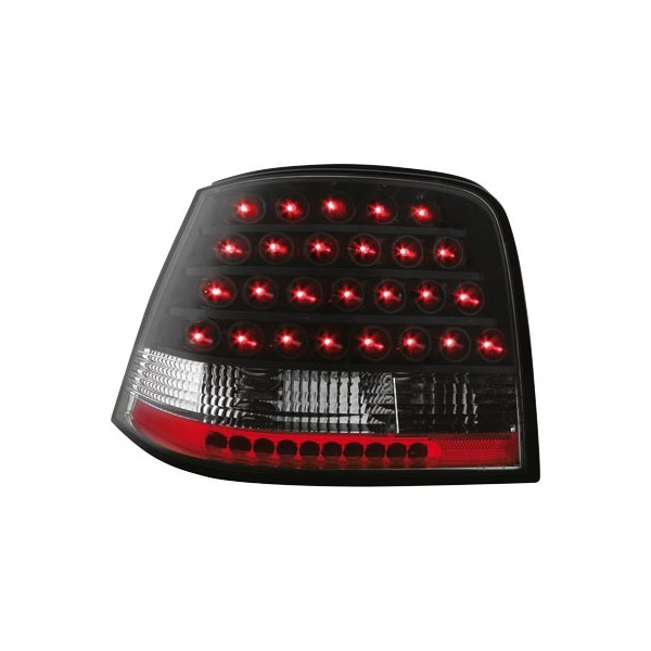 Achterlichten VW Golf IV LED old-skool zwart