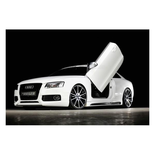 Zijskirts Audi A5 B8/B81 Rieger Carbon