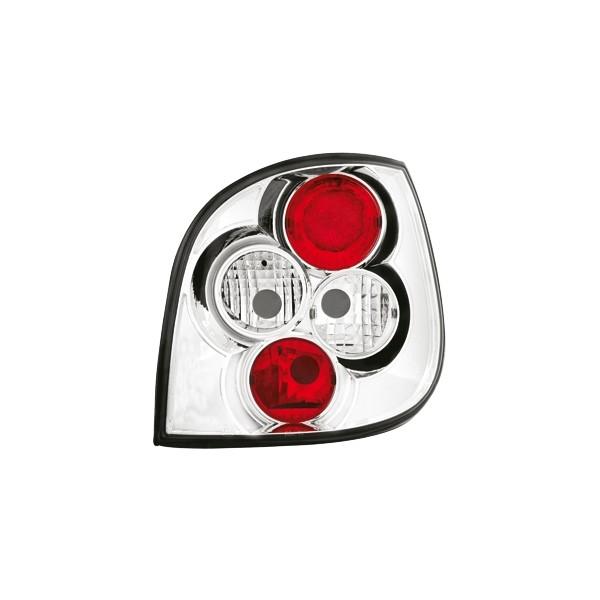 Achterlichten Renault Megane Scenic 96-.. chroom