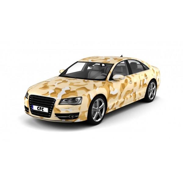 Car Wrap Folie Camouflage Desert Matt 150x300cm