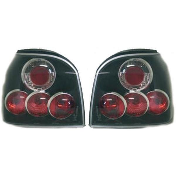 Achterlichten VW Golf III lexus zwart