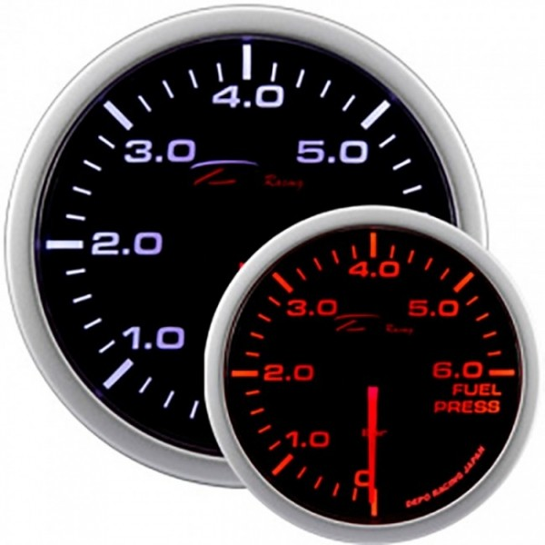 Depo Racing benzinedruk meter WA-Series Instrument