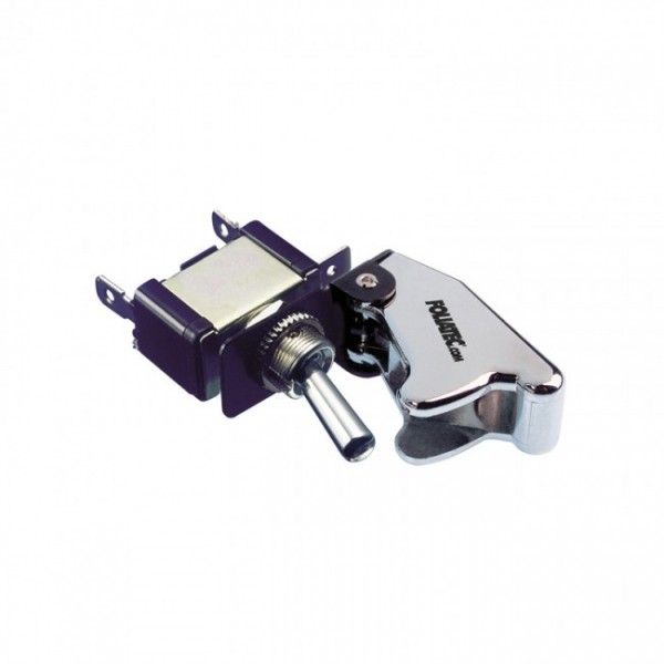 Foliatec Kill Switch On/Off schakelaar zonder LED - Cover chroom