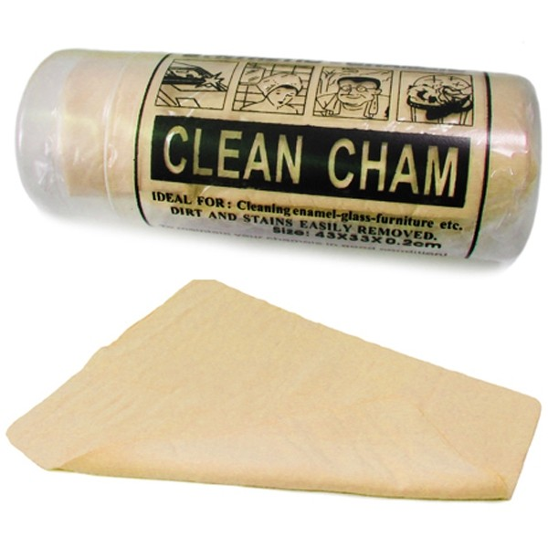Clean Chem Polijst, poets en schoonmaak doek. Geel